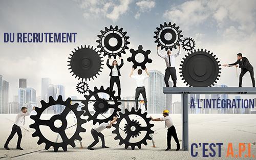 entreprise: du recrutement à l'intégration c'est A.P.I.